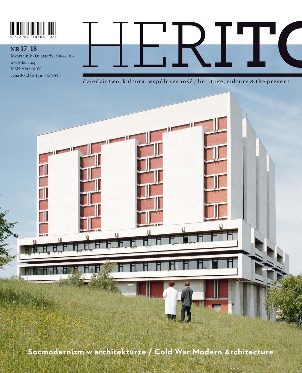 """""""Herito"""", nr 17–18 – okładka (źródło: materiały prasowe)"""