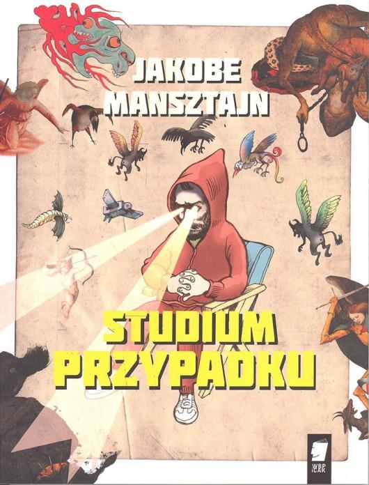 """Jakobe Mansztajn, """"Studium przypadku"""" – okładka (źródło: materiał prasowy organizatora)"""