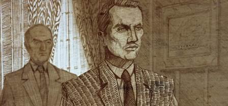 """Kadr z filmu """"Karski i władcy ludzkości"""" (źródło: materiały prasowe)"""