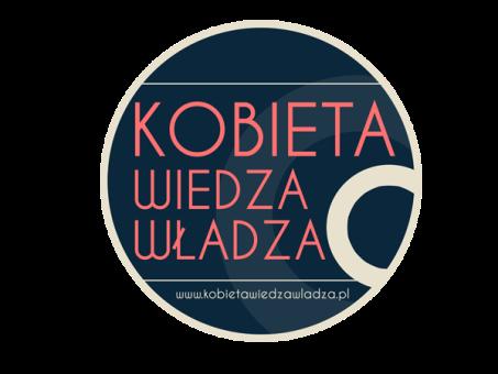 Kobieta – Wiedza – Władza – logo (źródło: materiał prasowy organizatora)