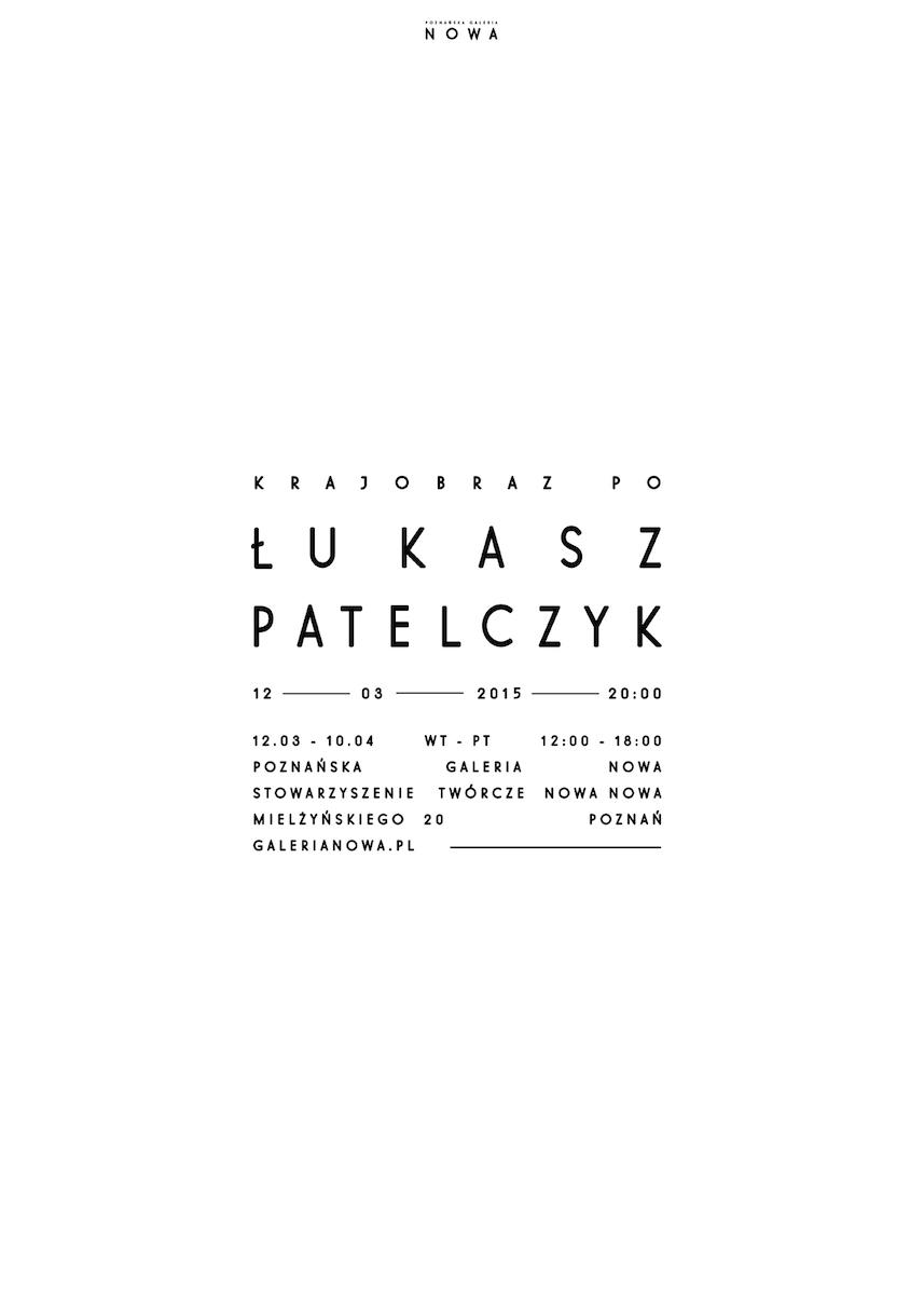 """Łukasz Pastelczyk, """"Krajobraz po"""" (źródło: materiały prasowe organizatora)"""