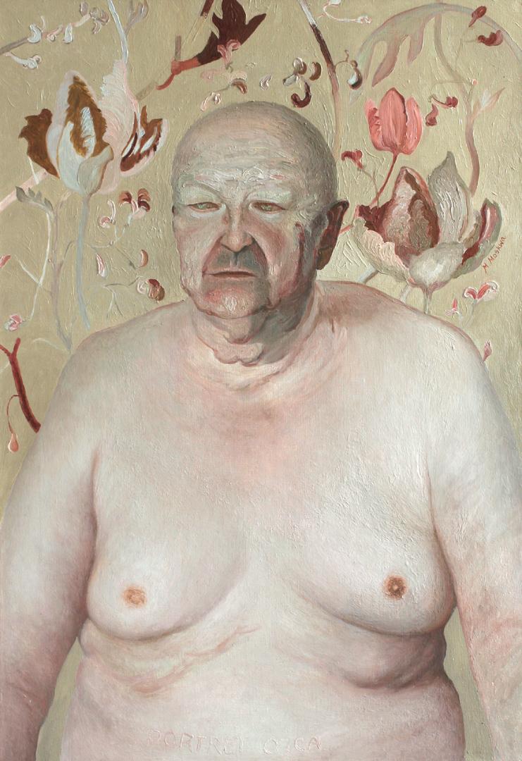 """Magdalena Moskwa, """"Portret ojca"""" (źródło: materiały prasowe organizatora)"""