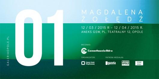 Plakat wystawy Magdaleny Żołędź 01 (źródło: materiały prasowe organizatora)