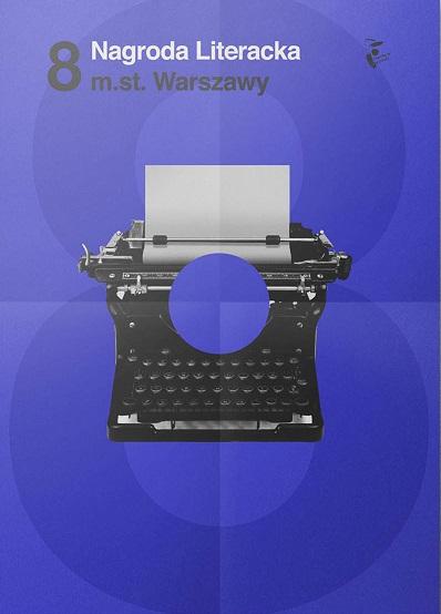 Nagroda Literacka m.st. Warszawy – plakat (źródło: materiał prasowy organizatora)