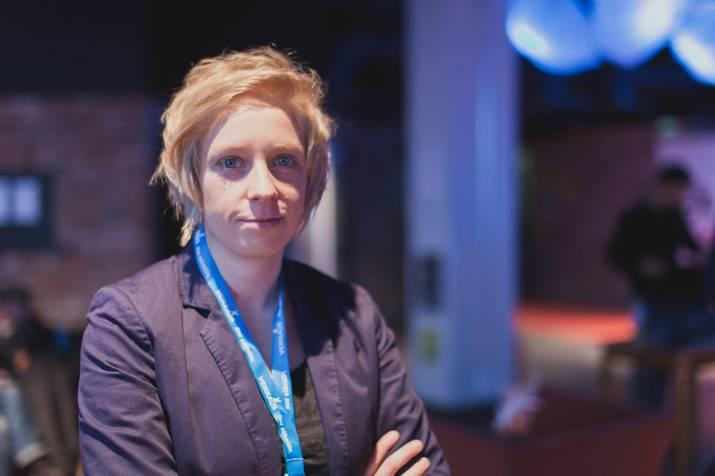 Paulina Skibińska na Festiwalu Filmowym Tampere (źródło: materiały prasowe organizatora)