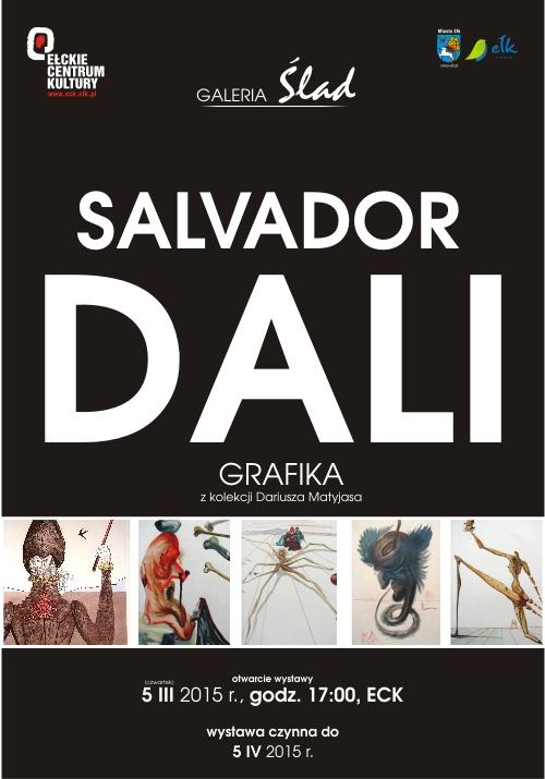 Plakat wystawy grafik Salvadora Daliego (źródło: materiały prasowe organizatora)