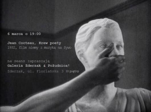 """Plakat seansu filmowego """"Jean Cocteau, Krew poety"""" (źródło: materiały prasowe organizatora)"""
