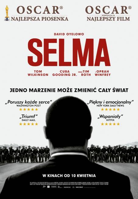 "Plakat filmu ""Selma"", reż. Ava DuVernay (źródło: materiały prasowe organizatora)"