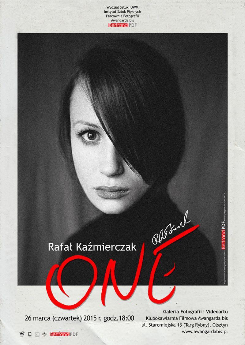 """Rafał Kaźmierczak, """"One"""" – plakat (źródło: materiał prasowy organizatora)"""