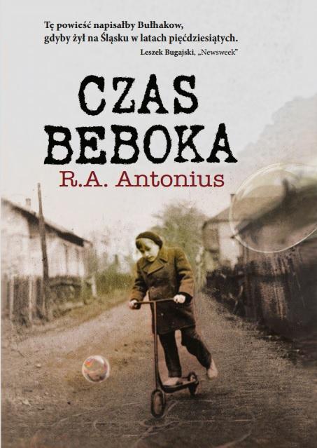 """Richard A. Antonius, """"Czas beboka"""" – okładka (źródło: materiały prasowe)"""