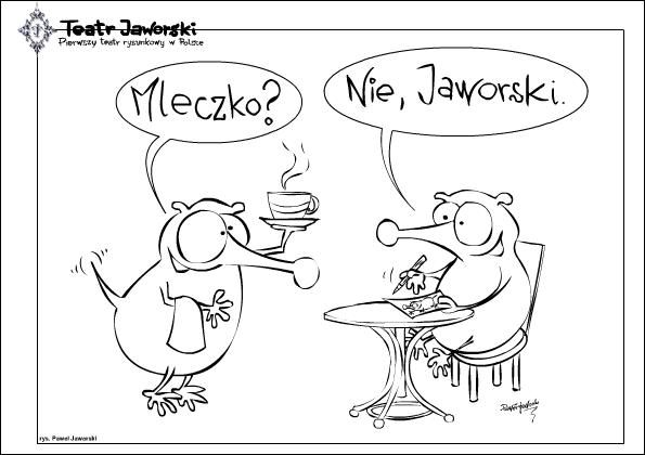 Rysunek, Paweł Jaworski (źródło: materiały prasowe organizatora)