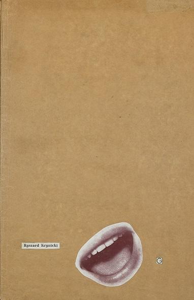 """Ryszard Krynicki, """"G"""" – okładka (źródło: materiały prasowe)"""