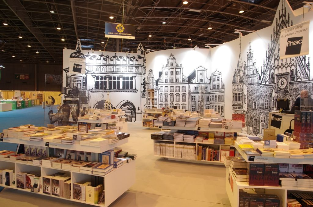 Salon du livre w Paryżu, fot. Sophie Bouteiller (źródło: materiał prasowy organizatora)