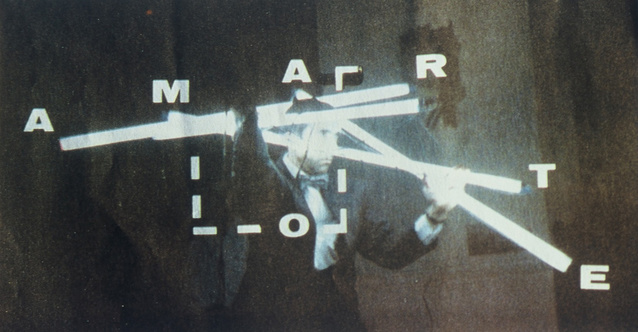 "Silvestre Pestana, ""Amar te / A marte"", 1990, fotografia (źródło: materiały prasowe organizatora)"