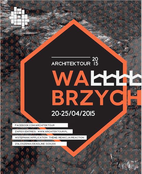Warsztaty Architektour, plakat (źródło: materiały prasowe organizatora)
