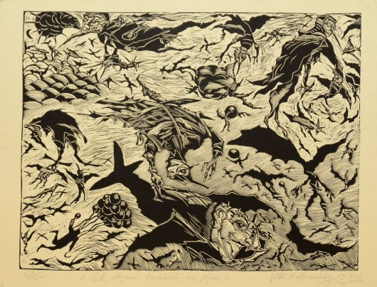 """Wystawa """"Zapis z wyobraźni"""", Victor Hernandez (źródło: materiały prasowe organizatora)"""