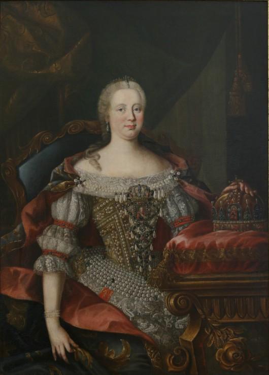 Cesarzowa Maria Teresa, XVIII w., depozyt Muzeum Miejskiego Suchej Beskidzkiej z kolekcji Ireneusza Seneckiego (źródło: materiały prasowe organizatora)
