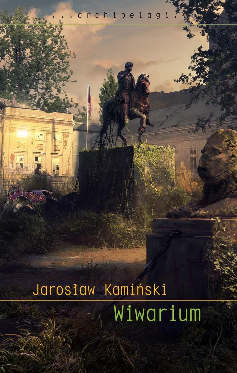 """Jarosław Kamiński, Wiwarium"""" – okładka (źródło: materiały prasowe)"""