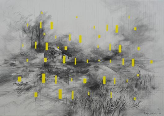 """Katarzyna Adamek-Chase, """"Primary Yellow"""" (źródło: materiały prasowe organizatora)"""