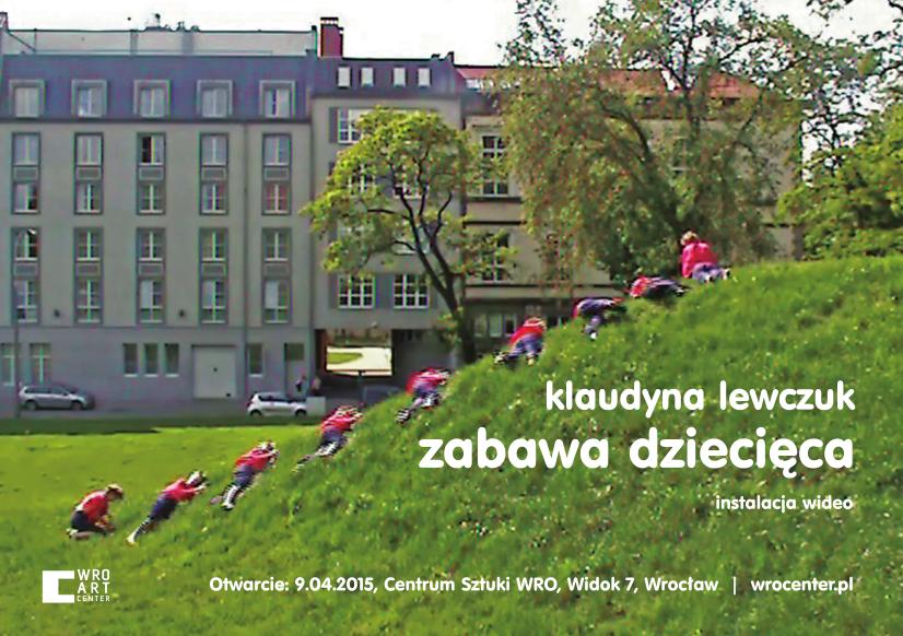 """Klaudyna Lewczuk, """"Zabawa dziecięca"""" – plakat (źródło: materiał prasowy organizatora)"""