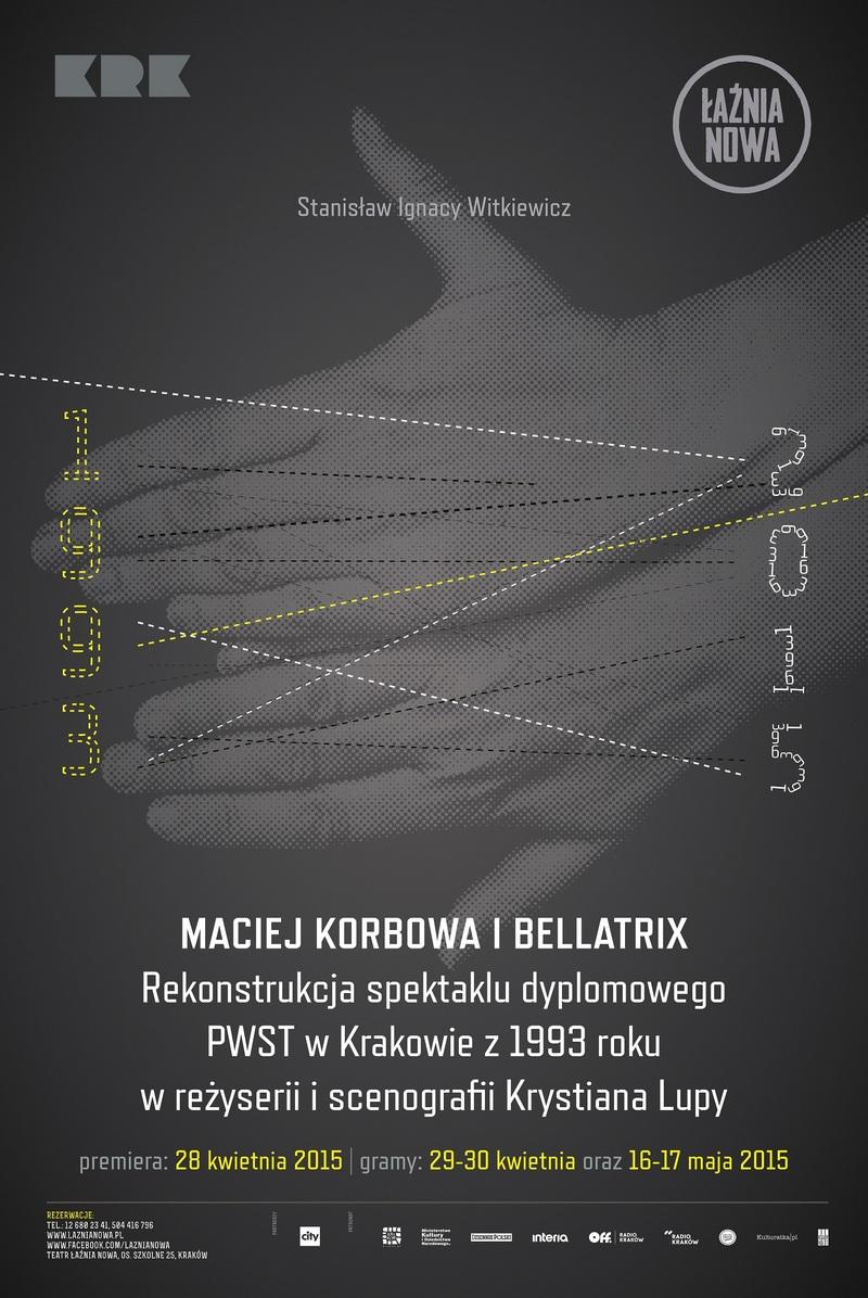 """""""Maciej Korbowa i Bellatrix"""", plakat (źródło: materiały prasowe)"""