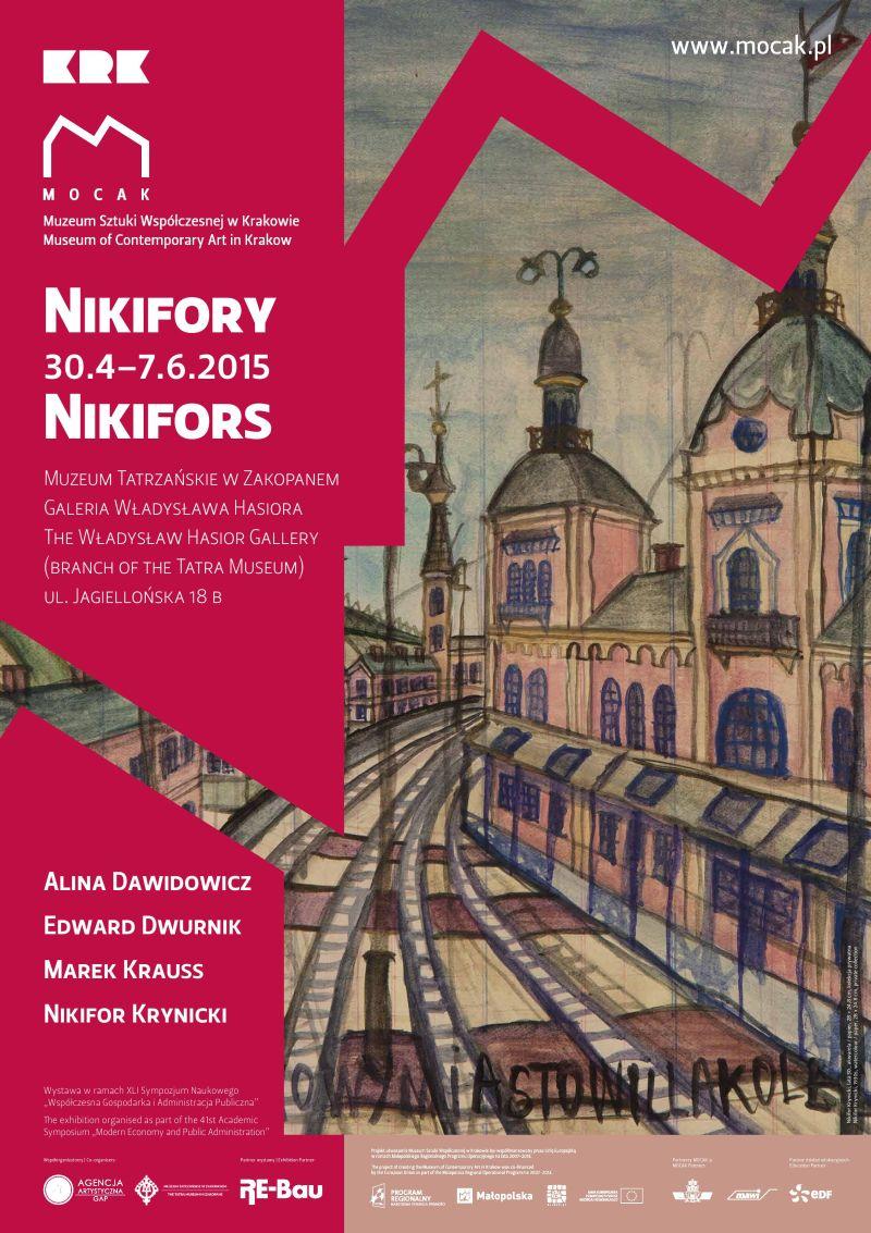 """Wystawa """"Nikifory"""" – plakat (źródło: materiał prasowy organizatora)"""