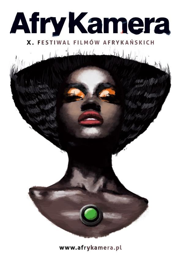 Plakat Festiwalu Filmów Afrykańskich AfryKamera 2015 (źródło: materiały prasowe organizatora)