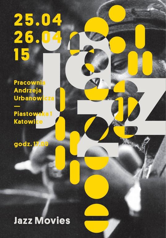 """Plakat """"Jazz i kino"""" (źródło: materiały prasowe organizatora)"""