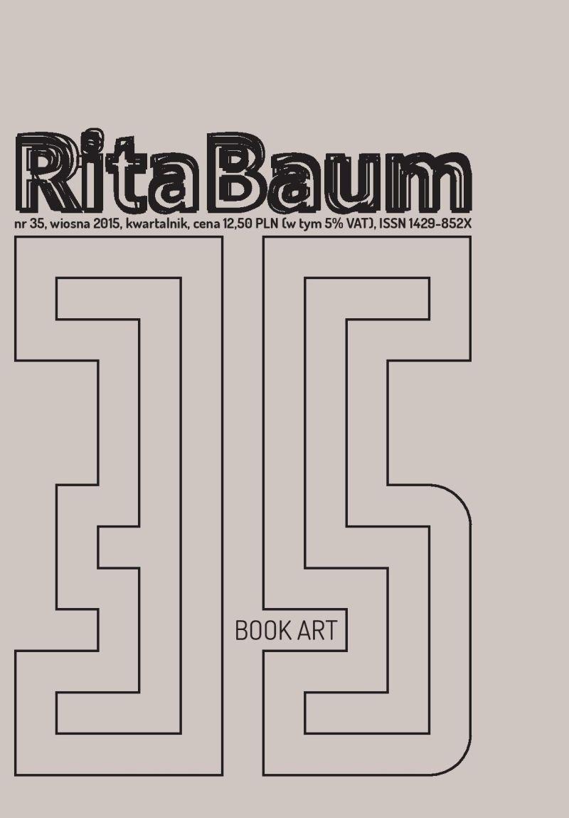 """""""Rita Baum"""", nr 34 – okładka (źródło: materiały prasowe)"""