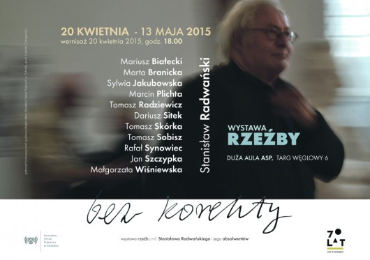 """Stanisław Radwański, wystawa """"Bez korekty"""" (źródło: materiały prasowe organizatora)"""