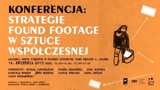 """Konferencja """"Strategie found footage w sztuce wspólczesnej"""" (źródło: materiały prasowe organizatora)"""