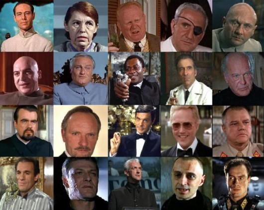 Czarne charaktery z serii o Bondzie (źródło: materiały prasowe)