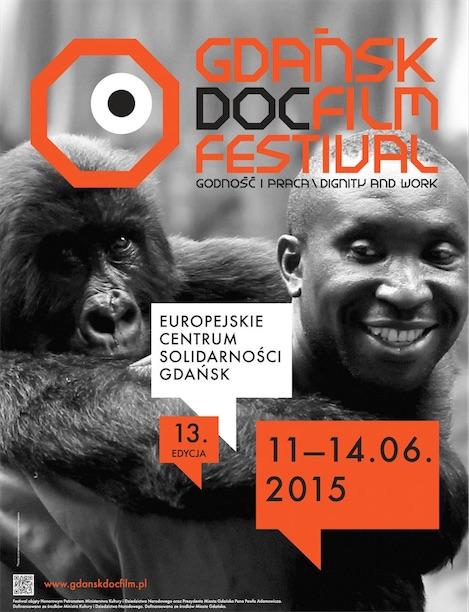 13. Gdańsk DocFilm Festival, plakat (źródło: materiały prasowe organizatora)