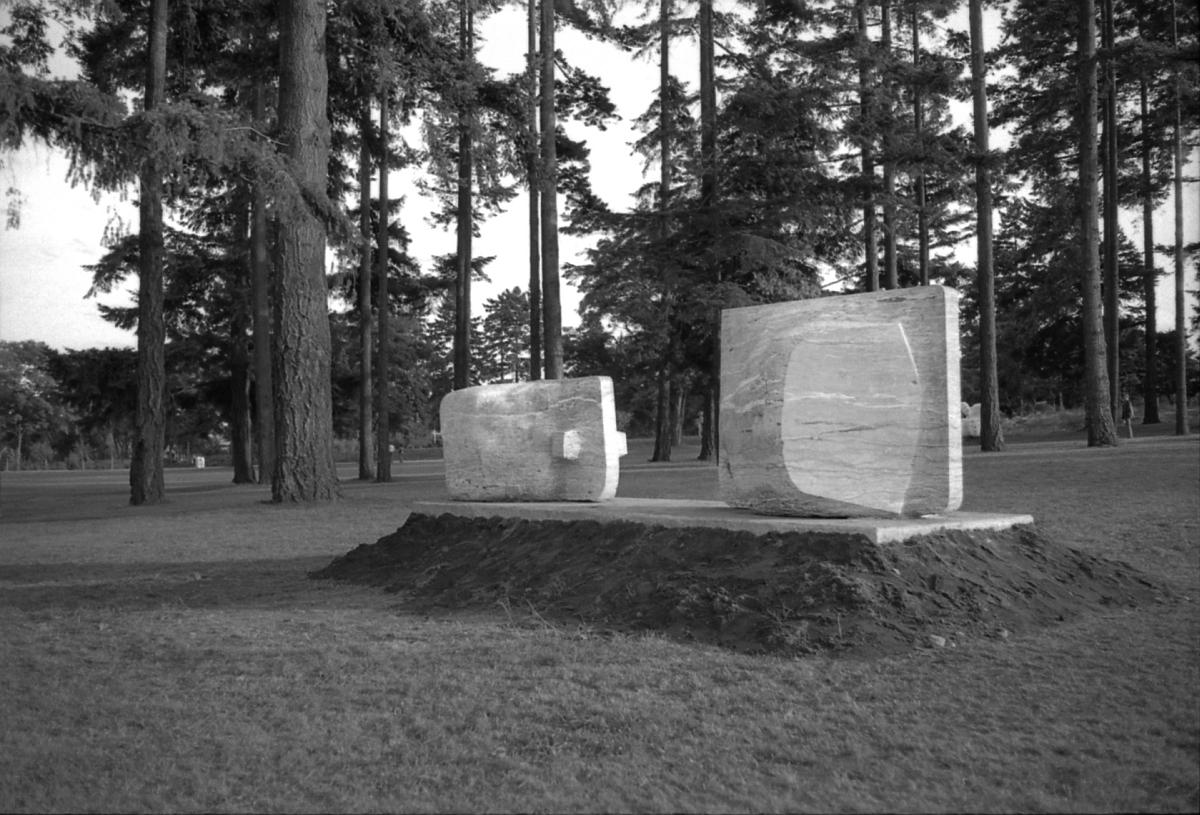 """Adolf Ryszka, """"Pomiędzy"""",1975 (źródło: materiały prasowe organizatora)"""