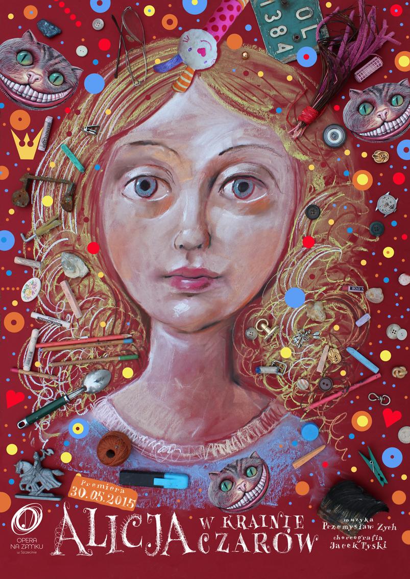 """""""Alicja w Krainie Czarów"""", plakat (źródło: materiały prasowe)"""