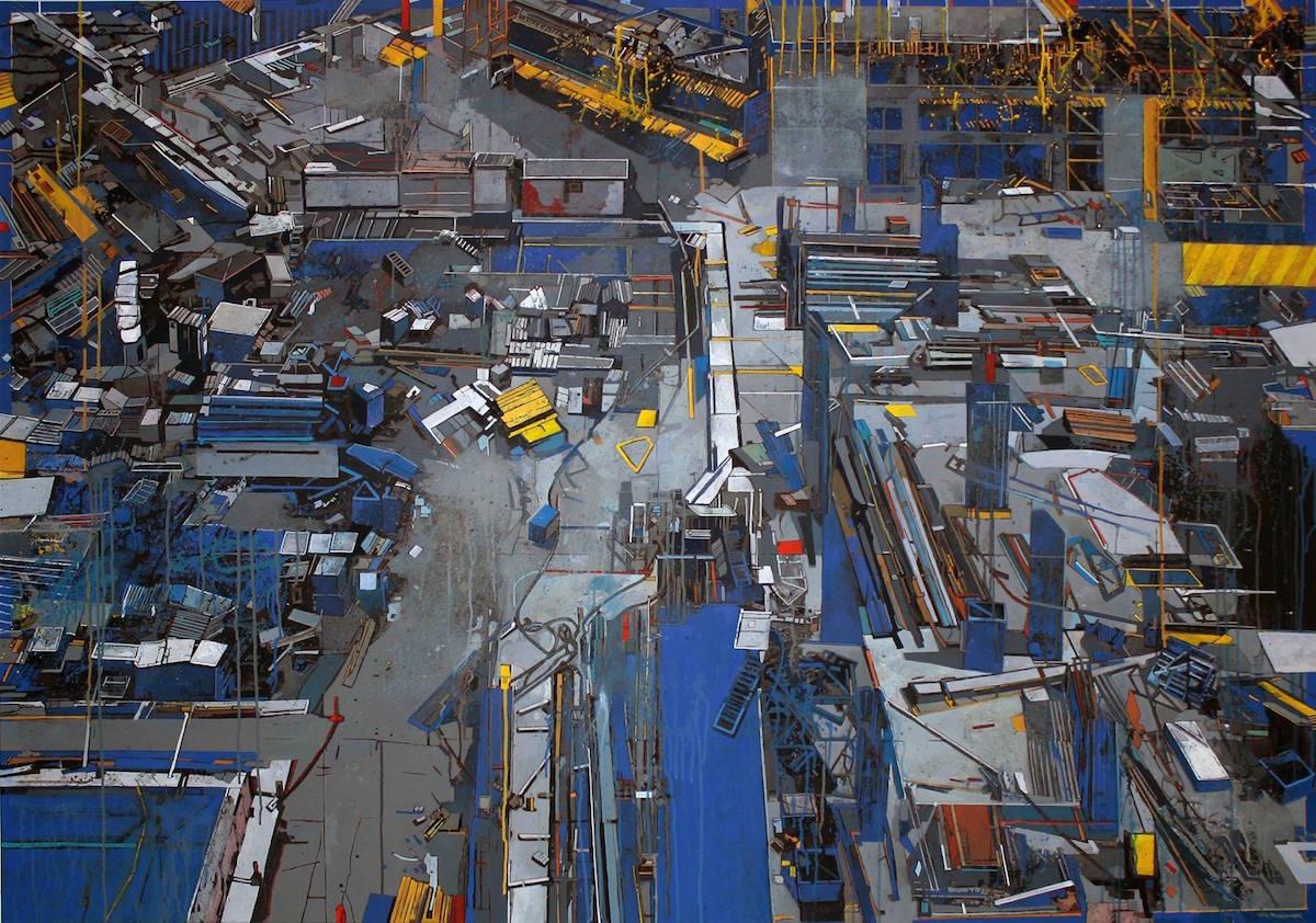 """Artur Przebindowski, """"Construction I"""", 2015 (źródło: materiały prasowe organizatora)"""