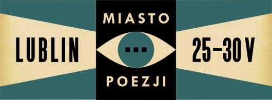 8. Festiwal Miasto Poezji – baner (źródło: materiały prasowe organizatora)