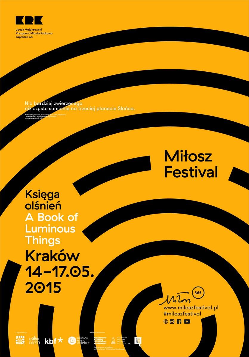 4. Festiwal Miłosza – plakat (źródło: materiały prasowe organizatora)