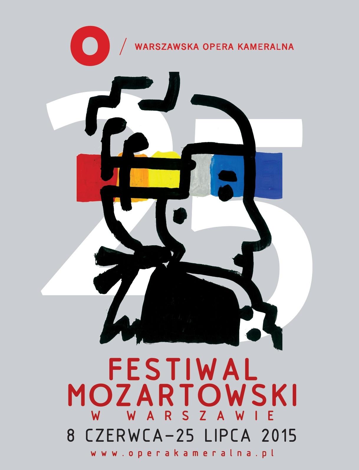 25. Festiwal Mozartowski, plakat (źródło: materiały prasowe)