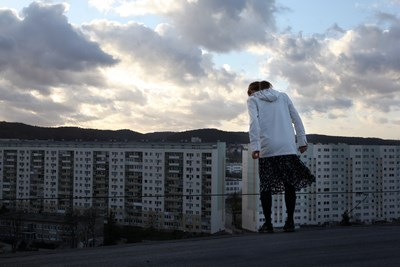 """Honorata Martin """"Dach"""", fot. Michał Znojek (źródło: materiał prasowy organizatora)"""