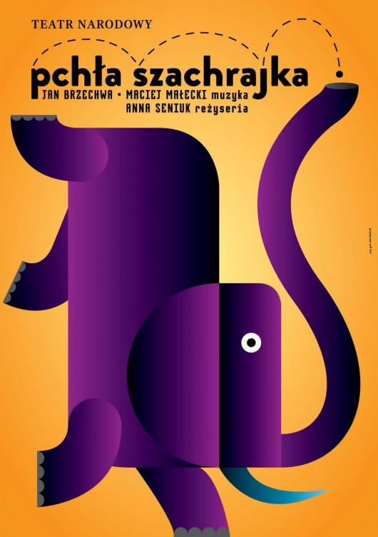 """Z cyklu """"Polski plakat teatralny"""", aut. Jan Bajtlik (źródło: materiały prasowe wydawcy)"""