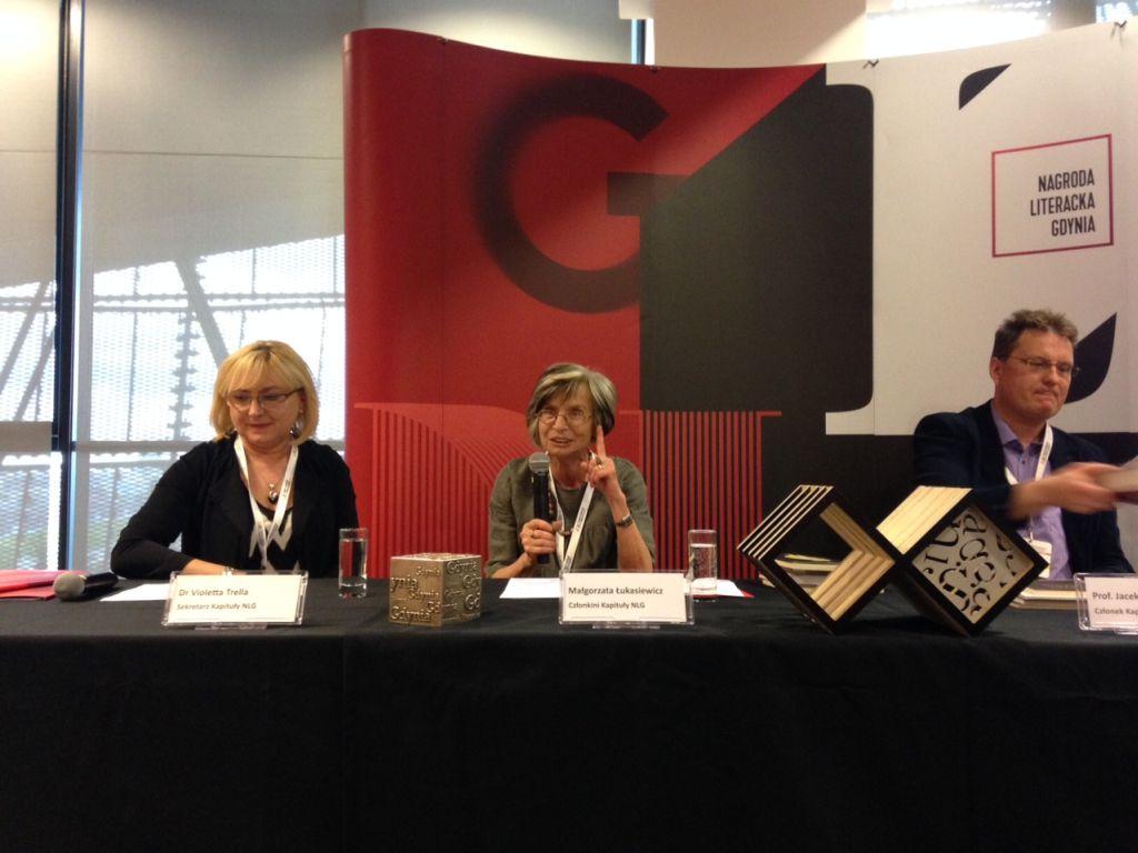 Jury Nagrody Literackiej Gdyni (źródło: materiał prasowy organizatora)