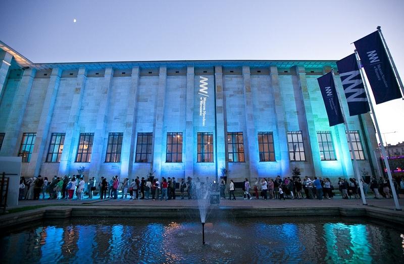 Muzeum Narodowe w Warszawie podczas zeszłorocznej Nocy Muzeów (źródło: materiał prasowy organizatora)