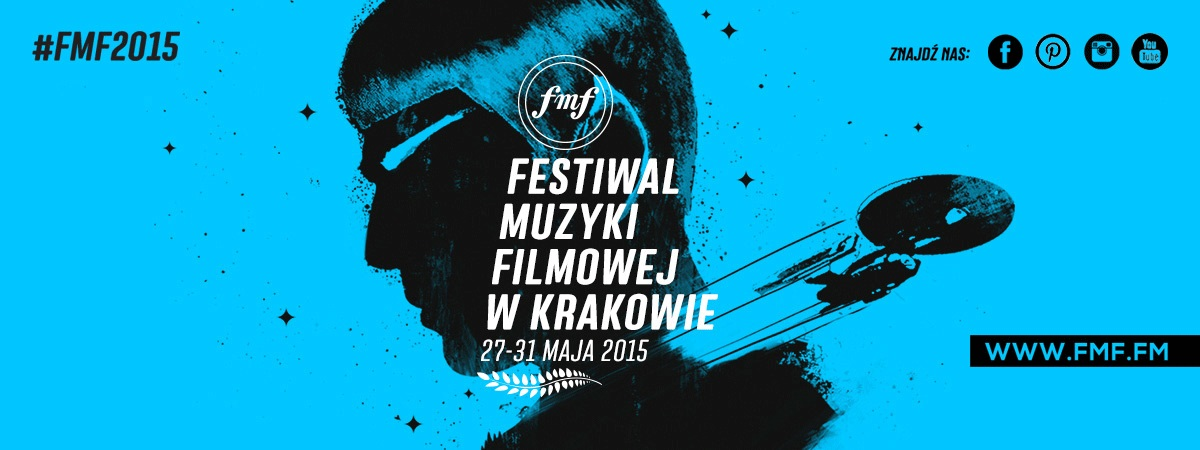 Plakat 8. Festiwalu Muzyki Filmowej w Krakowie (źródło: materiały prasowe organizatora)