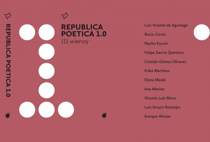 "Projekt ""Republica Poetica"" – plakat (źródło: materiały prasowe organizatora)"