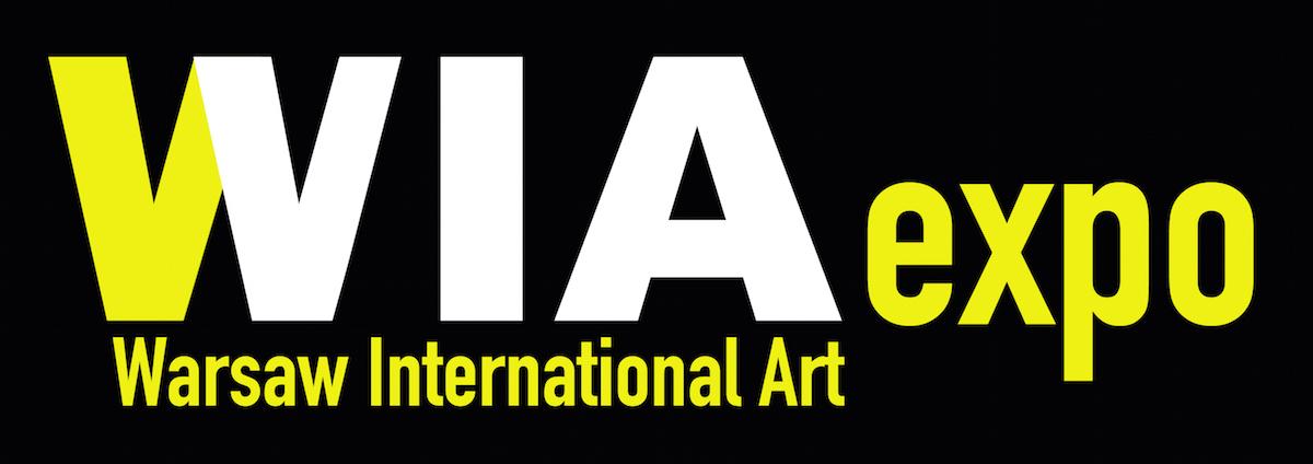 """Wystawa """"Warsaw International Art Expo"""", logotyp (źródło: materiały prasowe organizatora)"""