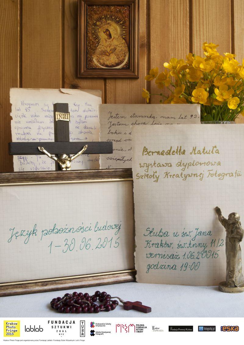 """Wystawa """"Język pobożności ludowej"""", Bernadetta Matuła (źródło: materiał prasowy organizatora)"""