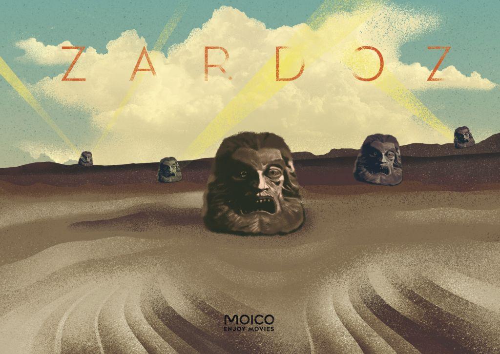 """Film """"Zardoz"""", reż. John Boorman – plakat (źródło: materiał prasowy organizatora)"""
