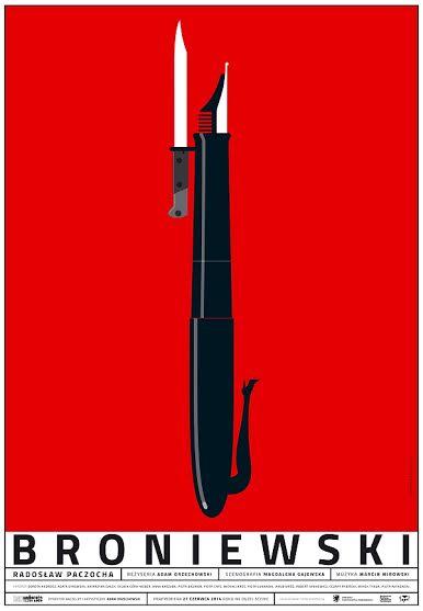 """""""Broniewski"""", reż. Adam Orzechowski, plakat (źródło: materiały prasowe)"""