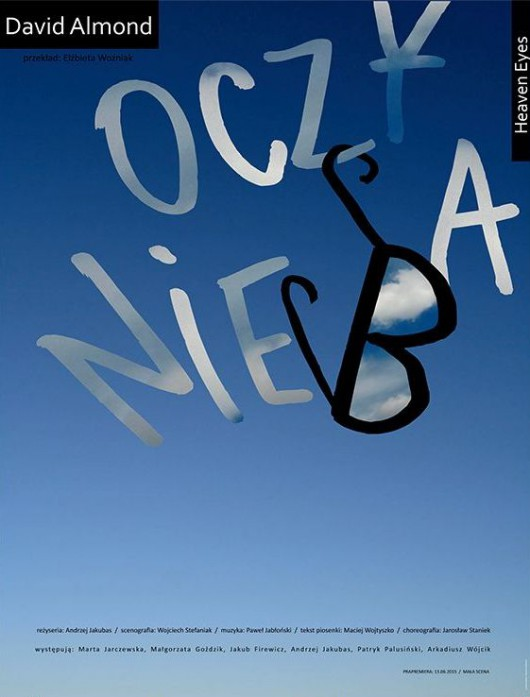 """""""Oczy nieba"""", plakat (źródło: materiały prasowe)"""